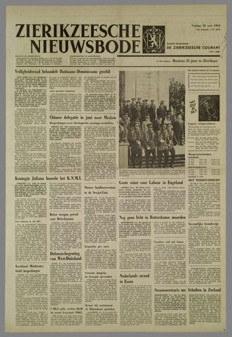 Zierikzeesche Nieuwsbode 1963-05-10