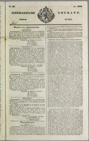 Zierikzeesche Courant 1844-07-19