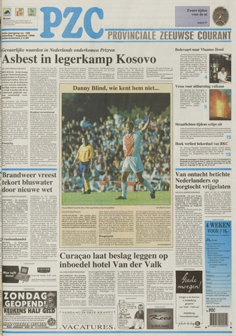 Provinciale Zeeuwse Courant 1999-08-07