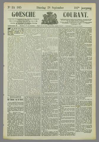 Goessche Courant 1915-09-28