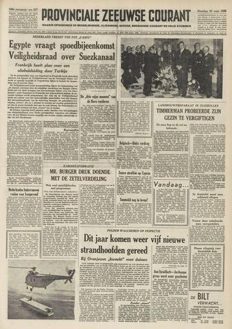 Provinciale Zeeuwse Courant 1956-09-25