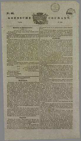 Goessche Courant 1836-07-29