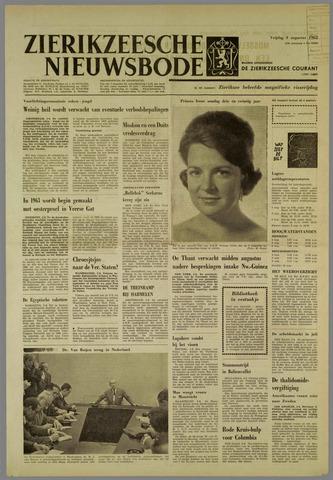Zierikzeesche Nieuwsbode 1962-08-03