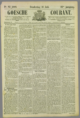 Goessche Courant 1908-07-16