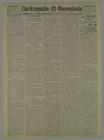 Zierikzeesche Nieuwsbode 1923-07-16