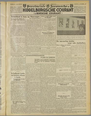 Middelburgsche Courant 1939-11-06