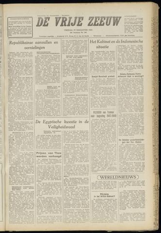 de Vrije Zeeuw 1947-08-22