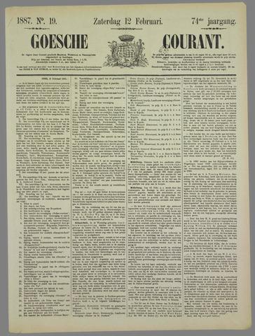 Goessche Courant 1887-02-12