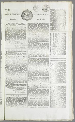 Zierikzeesche Courant 1824-07-06