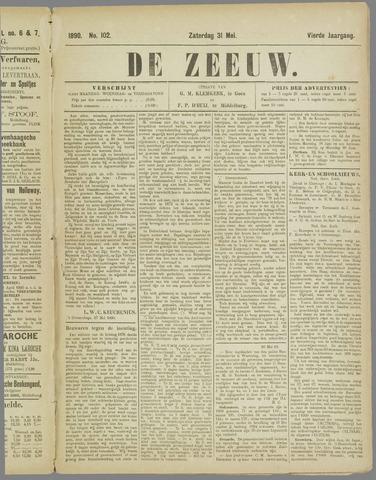 De Zeeuw. Christelijk-historisch nieuwsblad voor Zeeland 1890-05-31