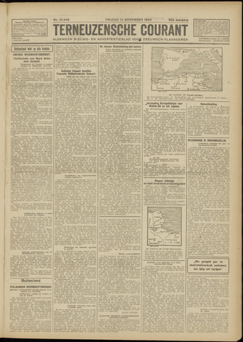 Ter Neuzensche Courant. Algemeen Nieuws- en Advertentieblad voor Zeeuwsch-Vlaanderen / Neuzensche Courant ... (idem) / (Algemeen) nieuws en advertentieblad voor Zeeuwsch-Vlaanderen 1942-11-13