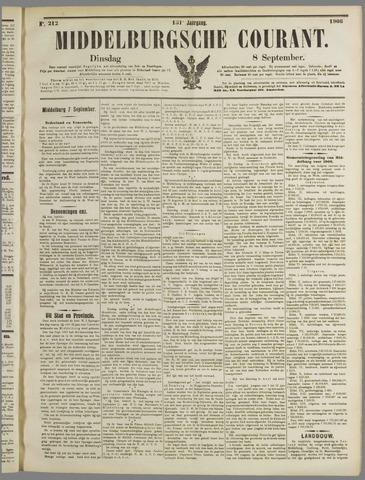 Middelburgsche Courant 1908-09-08