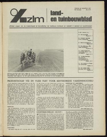 Zeeuwsch landbouwblad ... ZLM land- en tuinbouwblad 1972-08-25