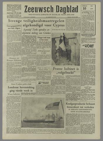 Zeeuwsch Dagblad 1958-06-10