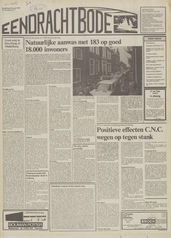 Eendrachtbode (1945-heden)/Mededeelingenblad voor het eiland Tholen (1944/45) 1981