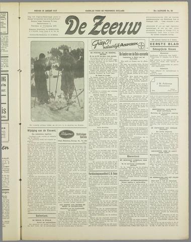 De Zeeuw. Christelijk-historisch nieuwsblad voor Zeeland 1937-01-15
