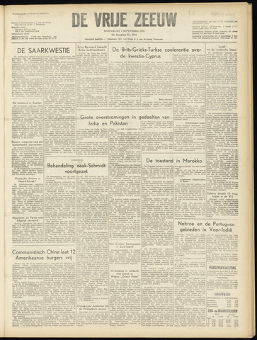 de Vrije Zeeuw 1955-09-07