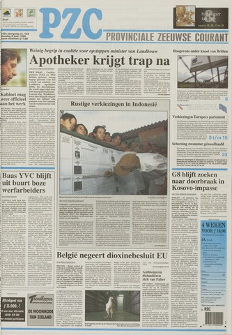 Provinciale Zeeuwse Courant 1999-06-08