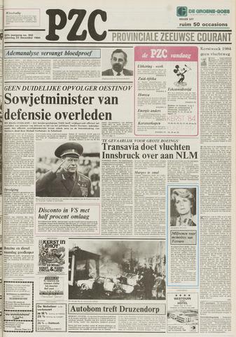Provinciale Zeeuwse Courant 1984-12-22