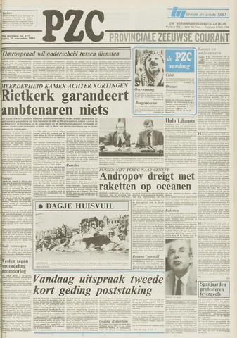 Provinciale Zeeuwse Courant 1983-11-25