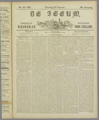 De Zeeuw. Christelijk-historisch nieuwsblad voor Zeeland 1901-02-16