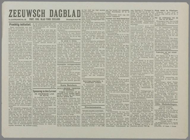 Zeeuwsch Dagblad 1945-06-05