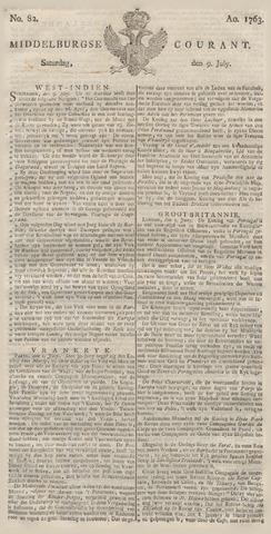 Middelburgsche Courant 1763-07-09
