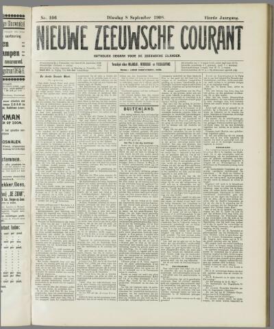 Nieuwe Zeeuwsche Courant 1908-09-08