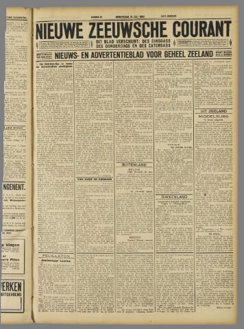 Nieuwe Zeeuwsche Courant 1928-07-19