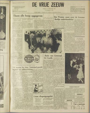de Vrije Zeeuw 1961-11-24