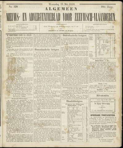 Ter Neuzensche Courant. Algemeen Nieuws- en Advertentieblad voor Zeeuwsch-Vlaanderen / Neuzensche Courant ... (idem) / (Algemeen) nieuws en advertentieblad voor Zeeuwsch-Vlaanderen 1870-05-18