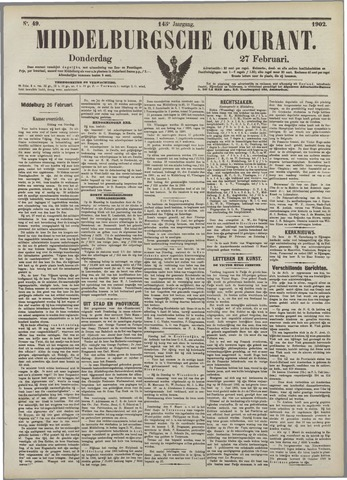Middelburgsche Courant 1902-02-27