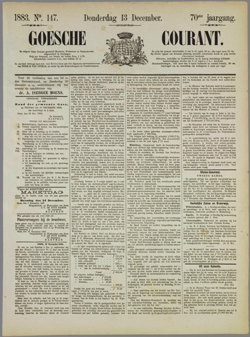 Goessche Courant 1883-12-13