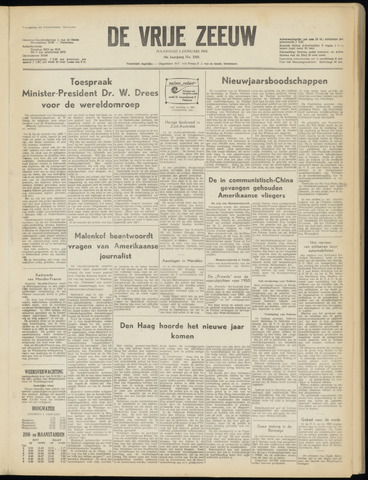 de Vrije Zeeuw 1955-01-03