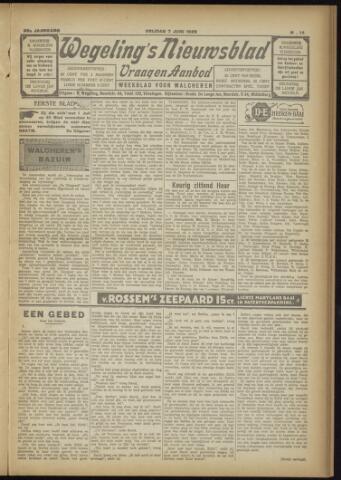 Zeeuwsch Nieuwsblad/Wegeling's Nieuwsblad 1929-06-07