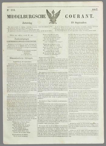 Middelburgsche Courant 1857-09-19