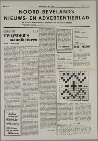 Noord-Bevelands Nieuws- en advertentieblad 1984-06-07