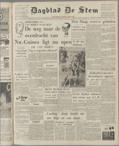 de Stem 1962-08-01