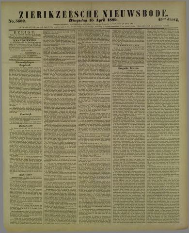 Zierikzeesche Nieuwsbode 1889-04-16
