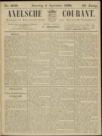 Axelsche Courant 1896-09-05