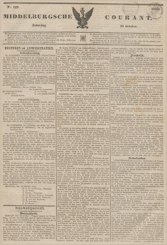 Middelburgsche Courant 1843-10-28