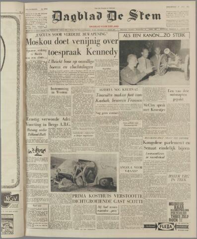 de Stem 1961-07-27