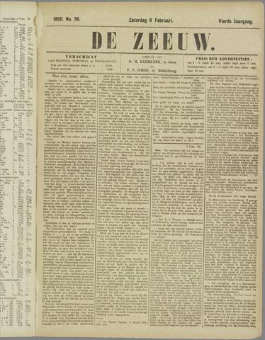 De Zeeuw. Christelijk-historisch nieuwsblad voor Zeeland 1890-02-08