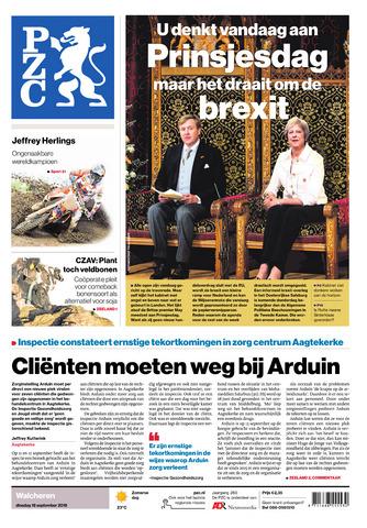 Provinciale Zeeuwse Courant 2018-09-18