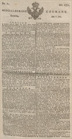 Middelburgsche Courant 1771-07-06