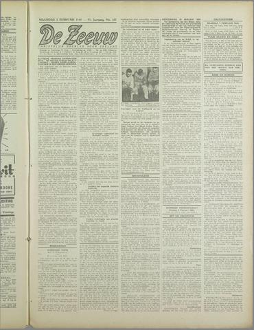 De Zeeuw. Christelijk-historisch nieuwsblad voor Zeeland 1943-02-01