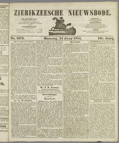 Zierikzeesche Nieuwsbode 1854-06-12