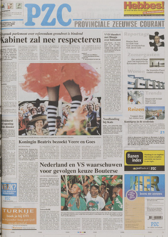 Provinciale Zeeuwse Courant 2005-05-21