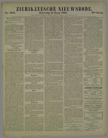 Zierikzeesche Nieuwsbode 1882-06-24