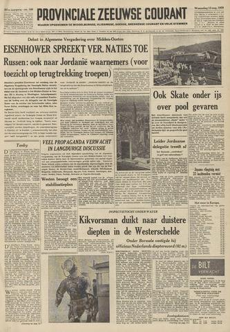Provinciale Zeeuwse Courant 1958-08-13